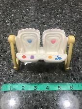 Fisher Price Mattel Loving Family Dollhouse Double Baby Swing
