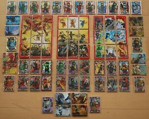 LEGO ninjago Series 4 Trading Card Game From Allen 252 Trading Cards Choose New