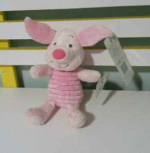 PIGLET PLUSH TOY WINNIE THE POOH CHARACTER TOY 22CM DISNEY BABY