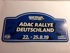 Paket #14: 10 Aufkleber Sticker - ADAC Rallye Deutschland 2019 FIA * 22 x 10,4cm