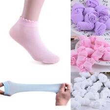 5 Pairs Baby Summer Socks Stretch Soft Girls Boys Toddler Mesh Short Socks #w