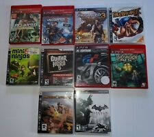 Playstation PS3 Games, 10 total