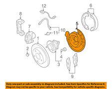 GM OEM Rear Brake-Backing Plate Splash Dust Shield 20933373