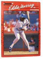 1990 Leaf Inc Donruss #77 Eddie Murray Los Angeles Dodgers (2)