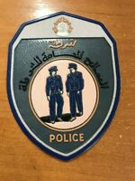 ALGERIA PATCH POLICE NATIONAL - ORIGINAL
