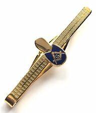 Freimaurer Schuh / Alt Slipper Emaille Verziert Krawattenklammer (N353)