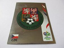Sticker PANINI Fifa World Cup GERMANY 2006 N°360 Logo Écusson Czech Republic