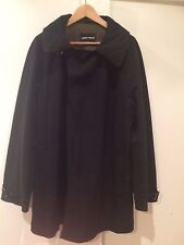 $3345 - Giorgio Armani Black Label - heavy coat / jacket, size L - used
