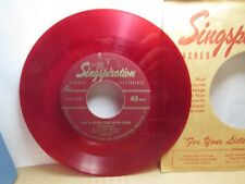 Old 45 RPM Record - Singspiration S-4016 - Just a Little Talk with Jesus / 'Tis