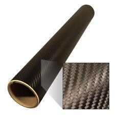 Karbonfolie Autofolie Folie Matt nachtschwarz 1,37 x 3,0 m zum Autotunen #02