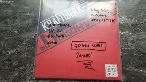 Kraftwerk Mensch Maschine Vinyl Clear Red Ltd. Ed. Rot Depeche Mode