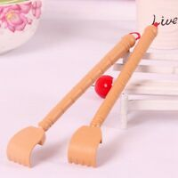 Bamboo Telescopic Back Scratcher Extendable Wooden Back Itching Self Massager