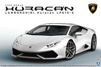 Aoshima 1:24 Scale Lamborghini Huracan LP610-4 Model Kit #299