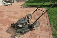 Lawn Mower Push Gas 22 Inch Tecumseh Motor Used Runs Big Wheel Pick Up In 60187