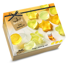 House of Crafts Soap Making Starter Craft Kit Lemon Scented Gift Set SC020