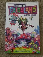 I HATE FAIRYLAND VOL #1 MADLY EVER AFTER TPB Scottie Young Image Comics SIGNED