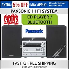 Panasonic Hi Fi Stereo System USB CD Player MP3 2x Speakers Music Entertainment