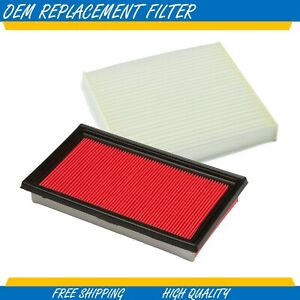 CABIN & AIR FILTER COMBO FOR INFINITI FITS G35 3.5L ENGINE 2003 - 2007