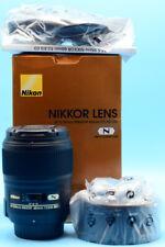 Nikon AF-S Micro NIKKOR 60mm f/2.8G ED Lens Mint in Box Unused