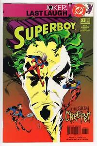 SUPERBOY #93 Joker: Last Laugh CREEPER DC Comics 2001 VF high grade
