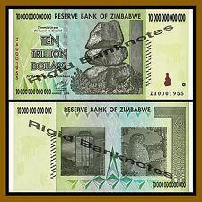 Zimbabwe 10 Trillion Dollars, 2008 Replacement (ZA) Unc