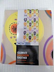 "NWT Halloween Polyethylene Vinyl Acetate Shower Curtain 70""x70"" RV $29.99"