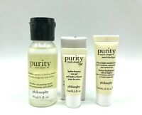 3x philosophy purity made simple Eye, Moisturizer, Micellar Cleansing Water, New