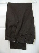 RUFFATTI -ITALY SMART ELEGANT TAILORED BROWN CHINO TROUSERS W34/31