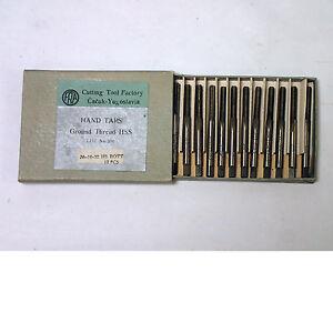 FRA  HAND TAPS  BOX  OF 12 10-32  GROUND THREAD  HSS