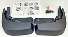 NEW GENUINE AUDI A6 C7 REAR ACCESSORY MUDFLAPS SET