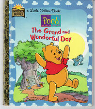 Little Golden Book - Pooh: The Grand and Wonderful Day (2000) VG (Dot.COM Ver)