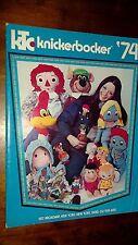 1974 Knickerbocker Toy Co. Catalog