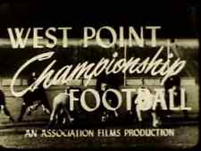 1945-46 Football Coaching DVD West Point Championship Football SINGLE WING