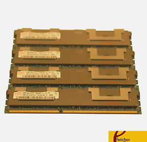 16GB (4X4GB) MEMORY FOR DELL POWEREDGE T410 T610 R610 R710 R715 R810 R815 R915