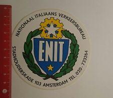 Aufkleber/Sticker: ENIT Nationaal Italiaans verkeersbureau (030117109)