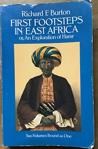 First Footsteps In East Africa Book