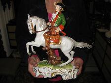 Unterweissbach Porzellan Figur Thüringen Reiterfigur Jagd Kutsche Barock Pferd