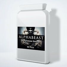 Alphabeast - Testosterone Booster Pill - Bodybuilding Supplement - 3 Month Cycle