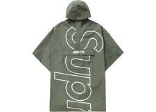 Supreme SS19 Gore-Tex Poncho Olive Brand New Small/Medium S/M w/ receipt