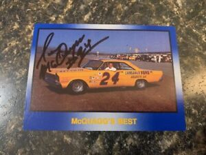 Masters of Racing Sam McQuagg Signed Trading Card-Combined Shipping Eligible