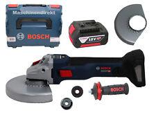 Bosch Akku Winkelschleifer GWS 18V-10 SC 150 mm + 5.0 Ah Akku 18 Volt 150 mm