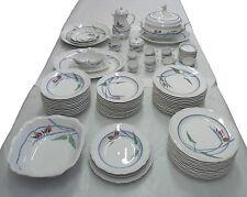Meissen 701701 Strelitzie Servito Piatti 71 Pezzi Porcellana decorata NEW