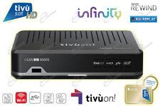 Decoder TivùSat HD e Scheda GOLD Tivusat ICAN4000s Wi-Fi Rai Play supporta SCR