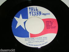 """7"""" - Billy Walker / Soap and Water & Someone loves you - US # 3862"""
