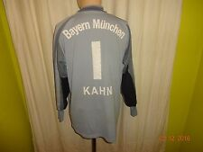 "FC Bayern München Adidas Torwart Trikot 02/03 ""-T--Mobile-"" + Nr.1 Kahn Gr.L- XL"