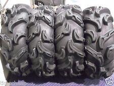 """25""""  ITP  MAYHEM DEEP LUG ATV TIRES COMPLETE SET 4 - 25X8-12 ** 25X10-12"""