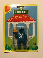 Muppets Sesame Street Cookie Monster Dancing with a Hat Original Packaging 1980s