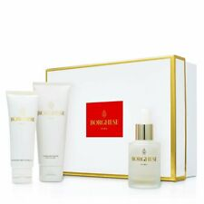 New 3 PC Italian Borghese Treatment Trio Creme Cleanser, exfoliator, Hydrating