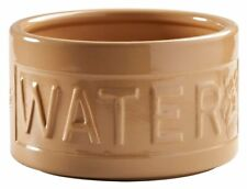 Mason Cash Stoneware Heavyweight Lettered Water Bowl for Dogs Cane 15cm **0228