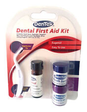 Dentek Dental First Aid Kit - Applicator, Tooth Saver, Temporary Filling